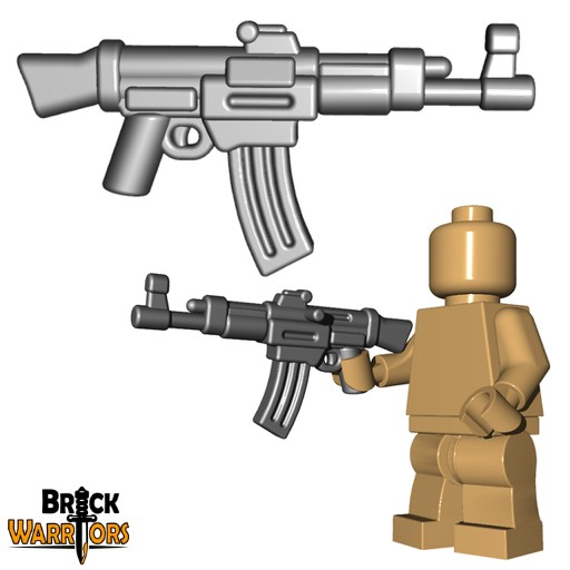 BrickWarriors German Storm Rifle