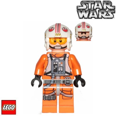 LEGO Figurka Rebel Pilot Luke Skywalker (75259)